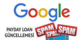 Google Payday Loan Güncellemesi